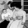 Raphaël holding Lisita & Mercedes - May 1958