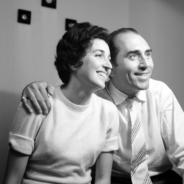 Alegria & Raphaël - October 1960
