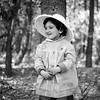 Lisita in park - March 1961