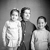 Lisita & Mercedes with nanny Tata