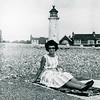 Lea on English beach