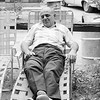 Woodcliff Park - David napping - 1965