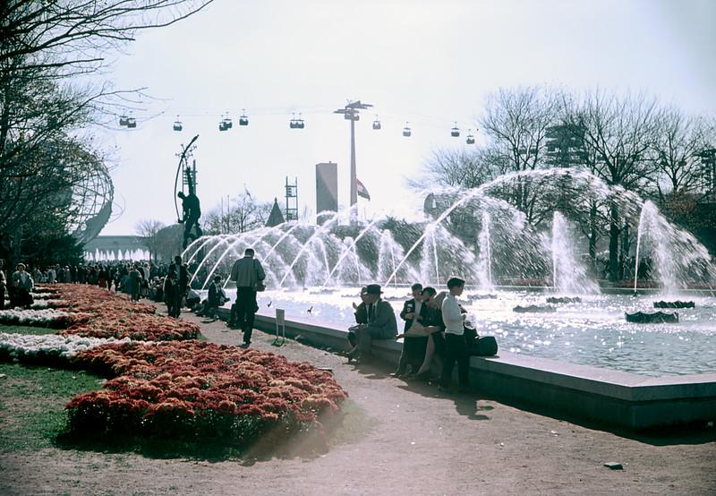 Unisphere Fountains