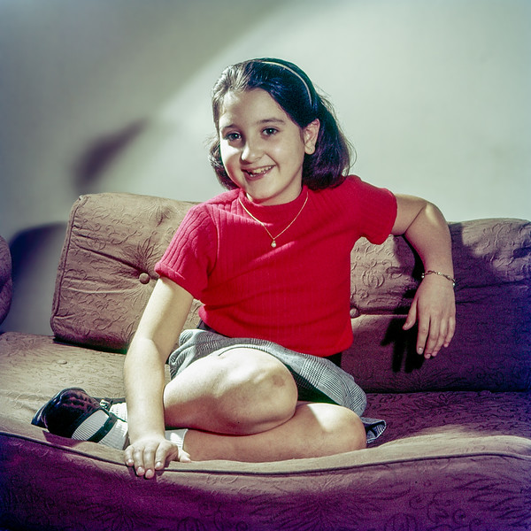 Lisita on her 9th birthday - 1966