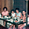 Family at the diner - August 1967