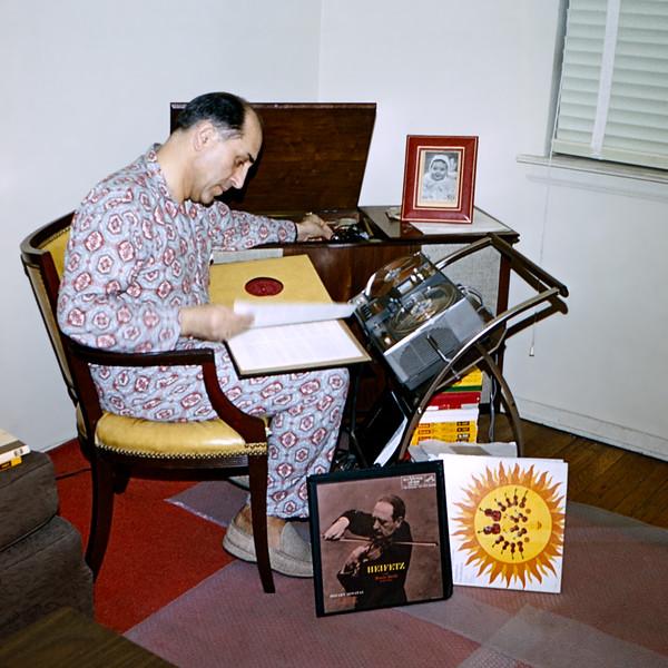 Raphaël recording music - January 1968