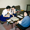 Playing Scrabble - January 1968