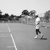 Raphaël playing tennis - July 1970