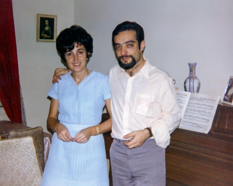 Alegria & Jacky on Lisita's 13th birthday - 1970