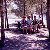 Mamé, Alegria & Clairette in park