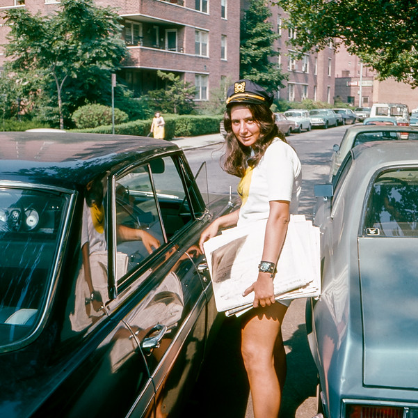 Mercedes ride to the beach - August 1971