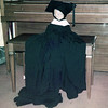 Pierrot in Cap & Gown!