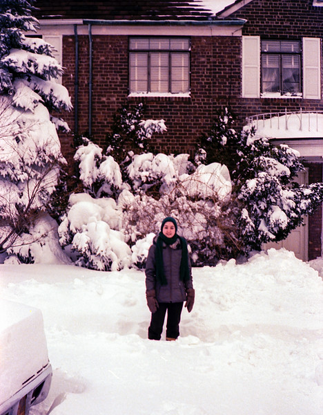 Lisita after the blizzard - February 7, 1978
