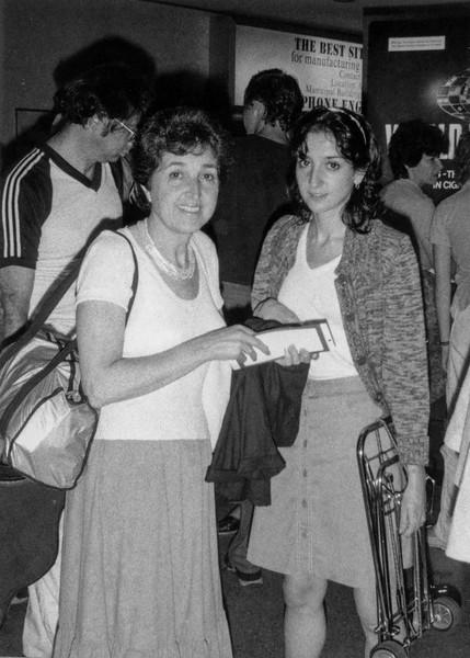 Lisita drops off parents at JFK Airport