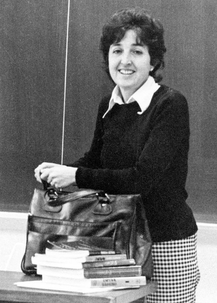 Alegria in classroom in Schuylkill (Penn State University) - 1976