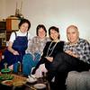 Alegria, Mercedes, Lisita & Raphaël - Christmas 1987