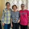 Alegria on her 90th birthday with Mercedes & Lisa - April 2018