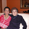Doris & Alegria at the end of the party