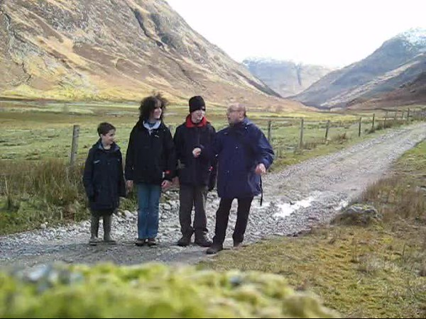 Video - Birthday wishes from Michael & family in Scotland