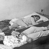 Bed time for Mercedes, Lisita & Pierrot - 1st USA apartment - November 16, 1964