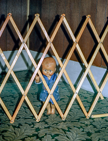 Pierrot behind bars!!!  Jamesport - July 1967