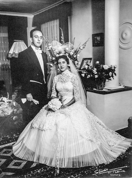 Eddy & Luna Wedding - June 29, 1955