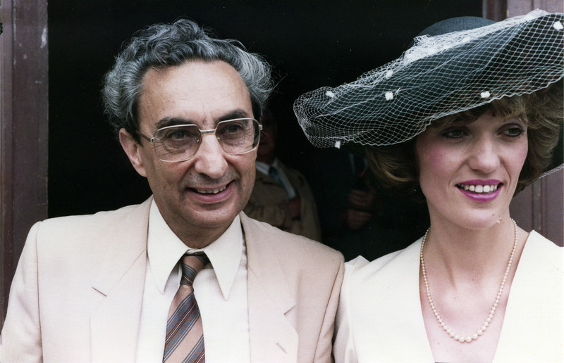 Elias & Brith at their wedding - July 15, 1984