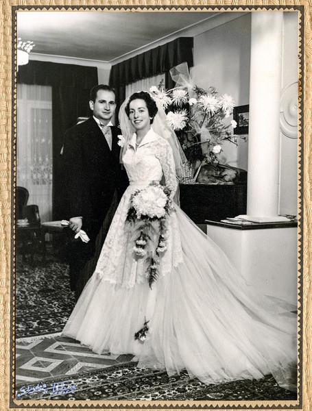 Lisette & Moise Wedding - September 16, 1953