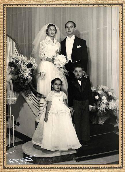 Sam & Marie Wedding - August 26, 1953
