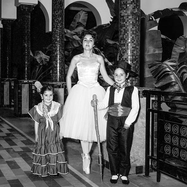 Lisita, Alegria & Mercedes at ballet performance