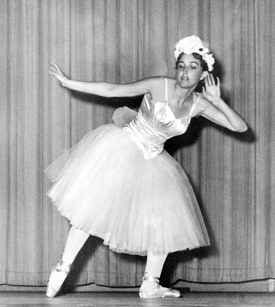 Alegria performing ballet in Casablanca - 1961