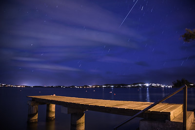iss over the sound