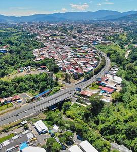 Circunvalacion Ruta 39 en San Jose, Costa Rica