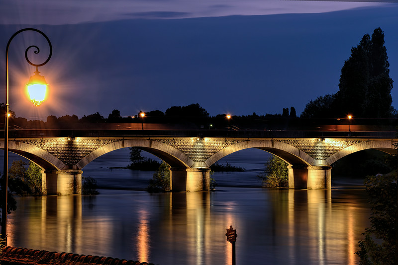 Loire Bridge, Amboise, France