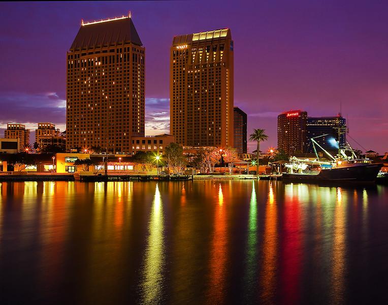 San Diego at night-2
