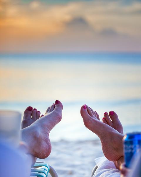 Relaxing, Happy Feet