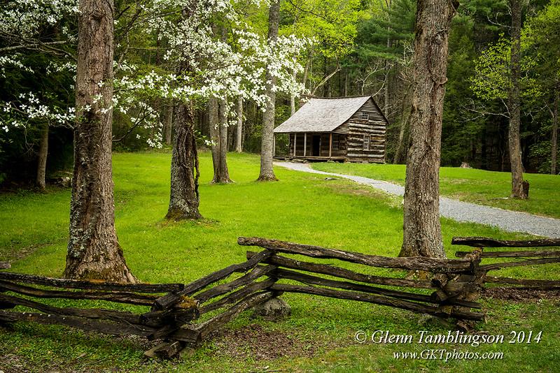 Glenn Tamblingson - Carter Shield's Cabin - Cades Cove, Great Smoky Mountains NP