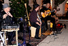 An outdoor gig