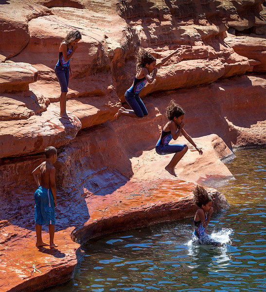 Livy Lou's Jump - Slide Rock