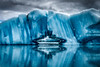 Glacial Ice Cave Reflection