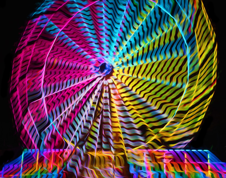 Ferris Wheel Abstraction