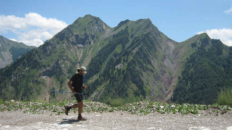 "And to prove that not all the really extreme running is done by women, here is Demetrios (Mitso) Kehayioglou! He successfully completed the E4 charity challenge in Jun-Jul 2011: 1030 miles in 29 days, fundraising about 2000 euro for <a href=""http://www.theblackfish.org/"">The Black Fish</a> and the <a href=""http://www.alkioni.gr/"">Aegean Wild Life Hospital</a> in Greece. E4 is a long distance European alpine alpine path that crosses the entire Greek mainland and Crete. I think he's proved his point..."