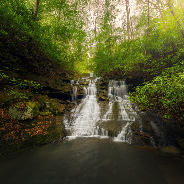 Sugar Run Falls Panorama
