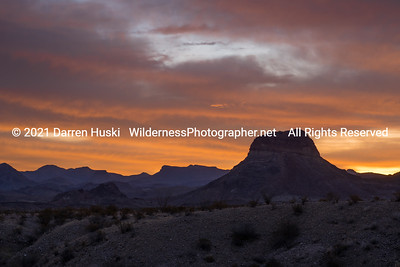 Sunrise over the Chisos