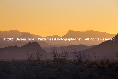 Ghostly Mountains of Big Bend
