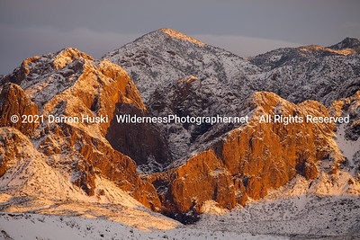 Winter Sunset in Big Bend