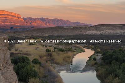 Rio Grande Winds through the Desert