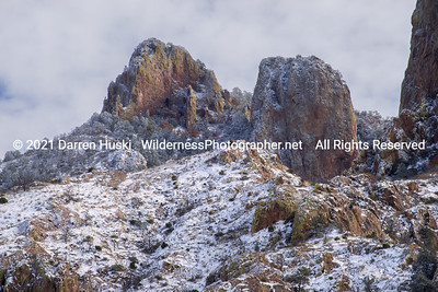 Winter in the Chisos