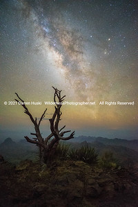 South Rim by Night