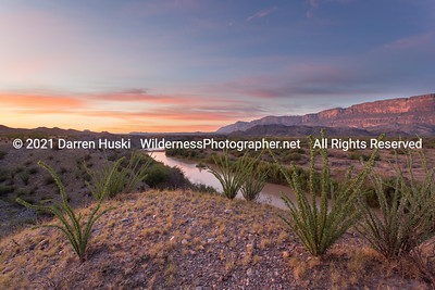 Fall Sunrise on the Rio Grande